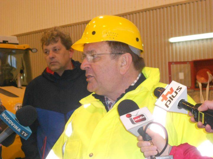 """Flutur vrea să grăbească lucrările la magistrala de gaze naturale Pojorâta – Vatra Dornei: """"Documentele nu sunt finalizate"""""""