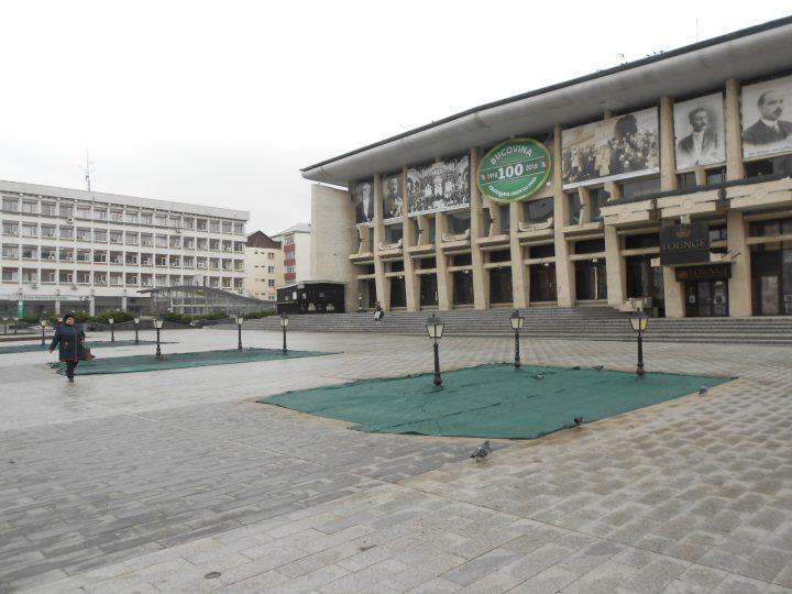 OCHIUL SOACREI: Au fost întinse plasele în centrul Sucevei