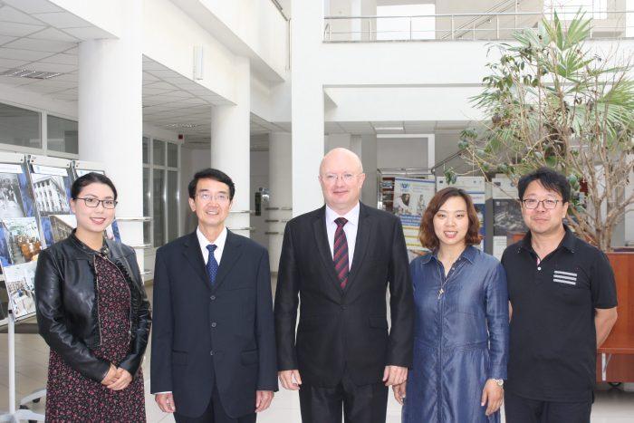 Stagii comune de cercetare USV – Universitatea Hebei