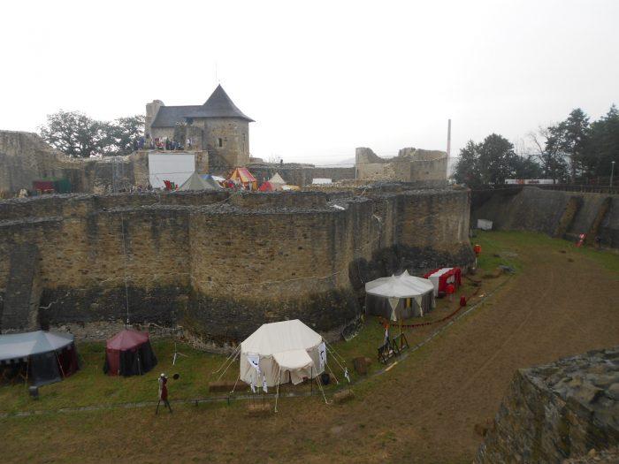 Festivalul Medieval de la Suceava, sub semnul ploii