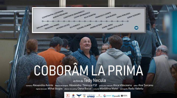 """""""Coborâm la Prima"""" – proiecție la Cinema Vladimir Găitan din Fălticeni"""