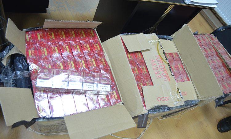 Amendă de 5.000 lei pentru țigări de contrabandă de 180 lei, la Vama Siret