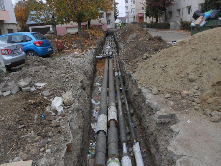 Lucrările la rețeaua termică din Zamca tot nu au fost finalizate