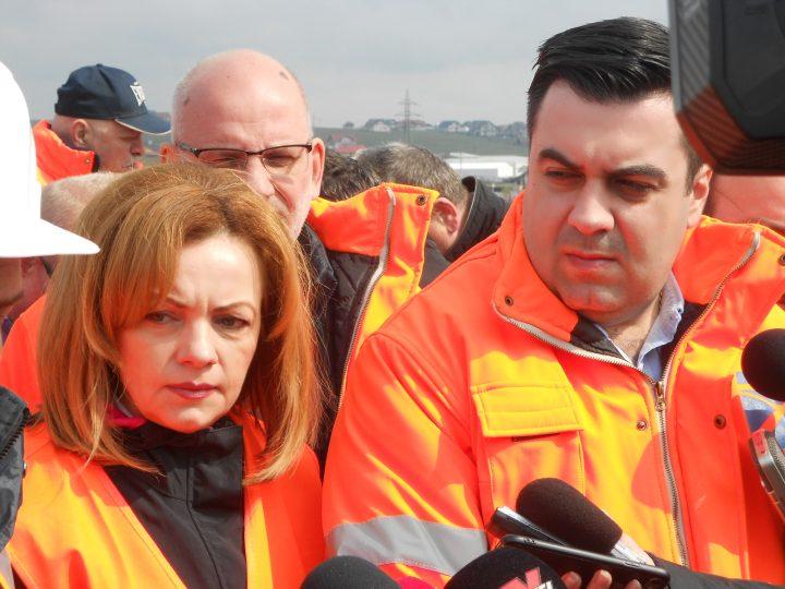 Ministrul Transporturilor a revenit la Suceava pentru a i se spune, din nou, că șoseaua de centură va fi gata în septembrie