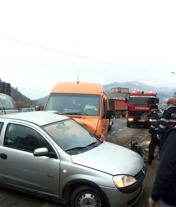 Șoferiță decedată după o tamponare la Molid