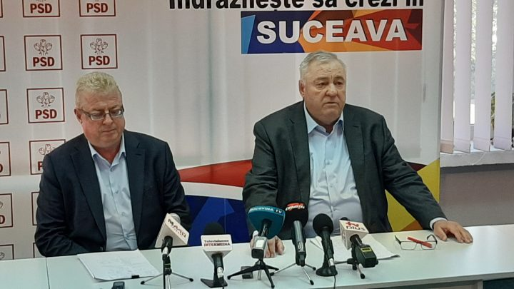 """Stan a anunțat-o pe Dăncilă în vizită electorală în județul Suceava: """"Va veni în județ, în comune, în orașe, nu eîncă stabilit"""""""