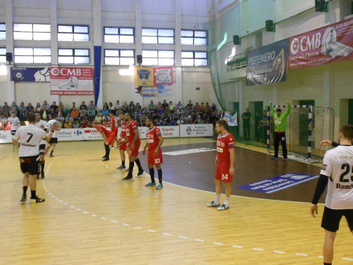 FOTO/Victorie scăpată printre degete: CSU Suceava – Dinamo București 25 – 25