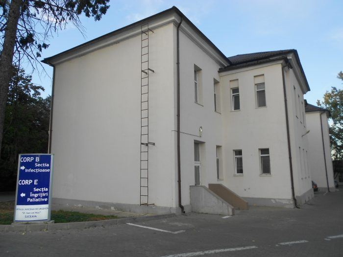Subsolul secției boli infecțioase a Spitalului Județean Suceava va fi reabilitat