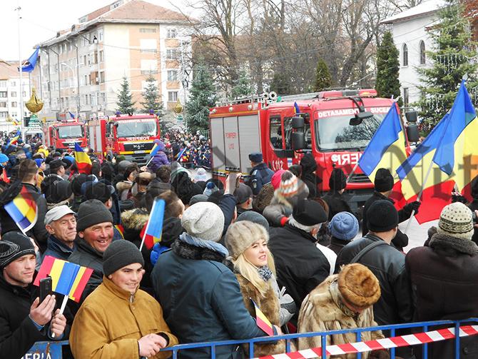 Paradă militară la Suceava, de Ziua Națională