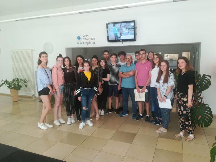 Elevi de la Colegiul Nicu Gane Fălticeni, stagiu de formare în Germania