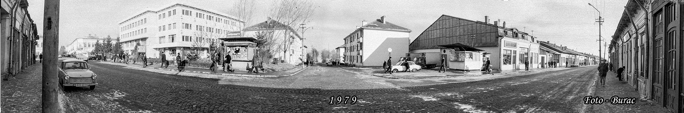 UNORAȘ,DOUĂSECOLE(93): Complexul Zorile și primele blocuri de pe strada Republicii din Fălticeni