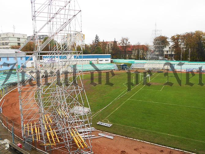 Miercuri seara se aprinde nocturna pe stadionul Areni. La partida FORESTA – STEAUA spectatorii nu vor avea voie cu umbrele