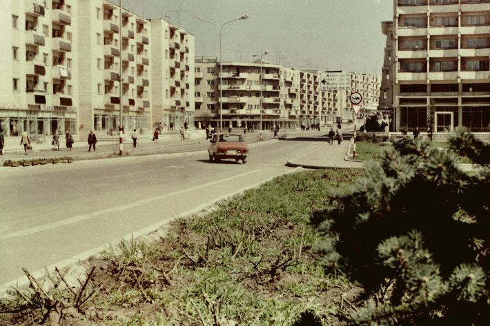UN ORAȘ, DOUĂ SECOLE (147): Fălticeni, modernizarea zonei centrale