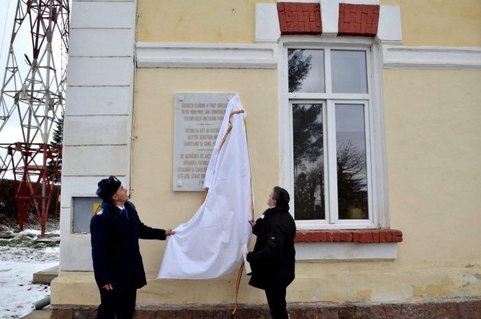 Dezveliri de plăci comemorative la Școala Militară de Subofițeri Jandarmi Fălticeni