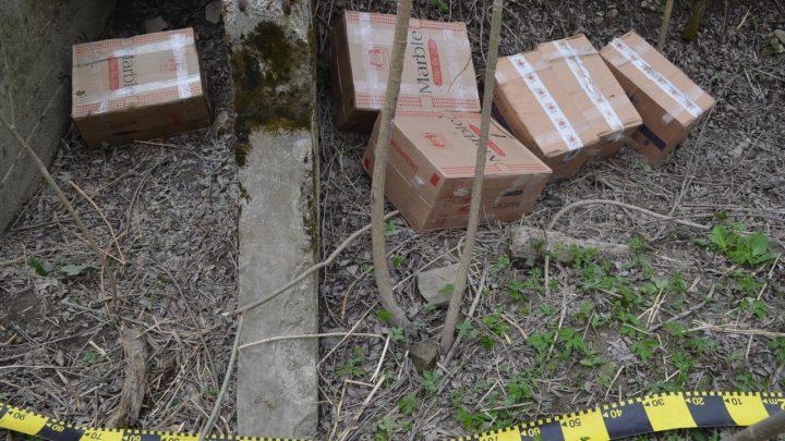 Țigări ucrainene în valoare de peste 460.000 lei confiscate la Straja și Ulma