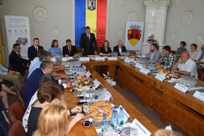 Acord de colaborare între Fălticeni și Kendainiai – Lituania
