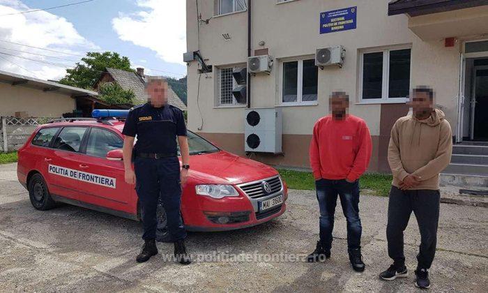 Un tunisian și un algerian intrați ilegal în țară, reținuți la Falcău