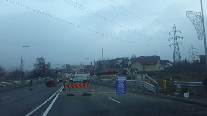 OCHIUL SOACREI: S-a redeschis șantierul la podul abia finalizat din Fălticeni
