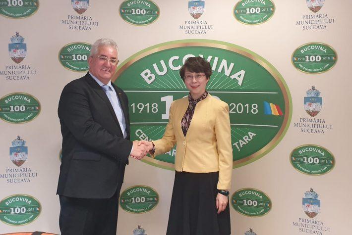 Lungu a semnat acordul de cooperare cu municipiul Yinchuan din China