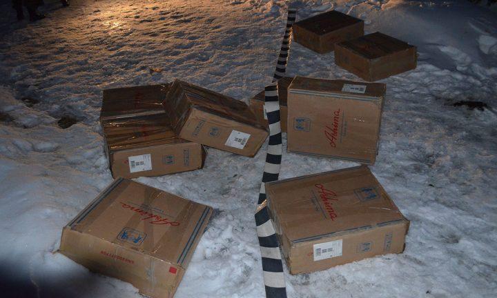 Țigări de contrabandă în valoare de peste 50.000 lei abandonate la Brodina