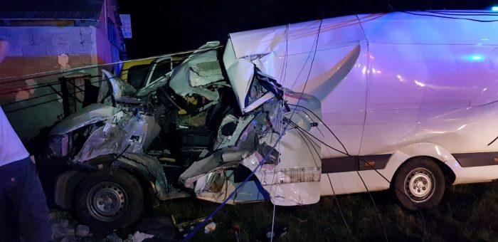 FOTO / Persoană decedată în accident rutier la Roșiori
