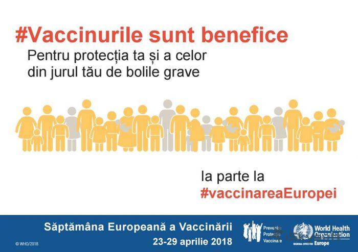 Săptămâna Europeană a Vaccinării, marcată în județul Suceava