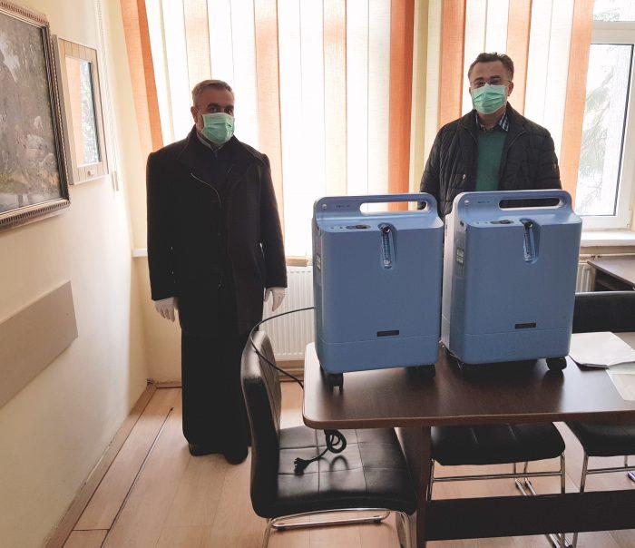 Protopopiatul Fălticeni a donat două concentratoare de oxigen spitalului municipal