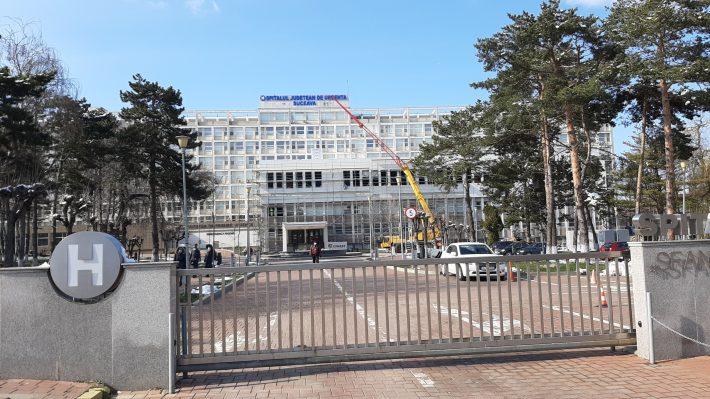 Coronavirus: 149 de pacienți cu COVID-19 internați la Spitalul Județean Suceava