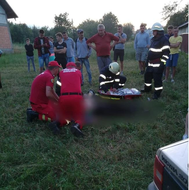 Șofer decedat după ce s-a izbit într-un gard, la Bălcăuți