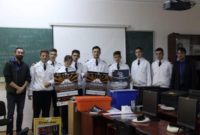 Elevi militari câmpulungeni, pasionați de robotică