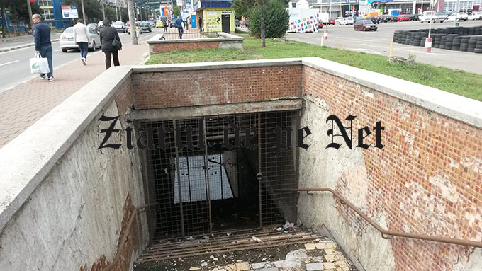 pasaj subteran Burdujeni Suceava 2015