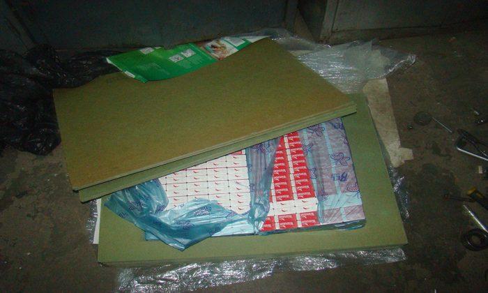 Țigări de contrabandă depistate de polițiștii de frontieră de la Siret