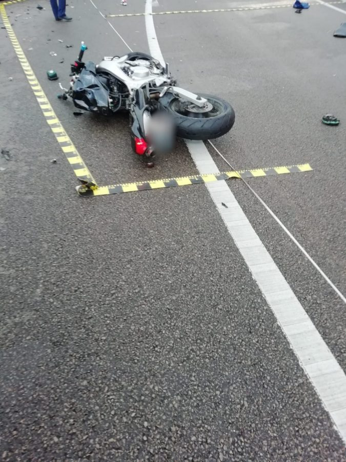 Motociclist decedat după ce s-a izbit într-un microbuz, la Vatra Dornei
