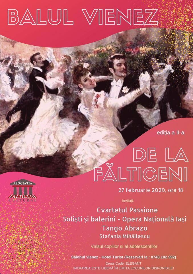 A doua ediție a Balului vienez de la Fălticeni, pe 27 februarie