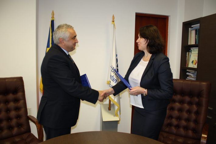 Acord de colaborareîntreUSV și Universitatea Dimitrie Cantemir Chișinău