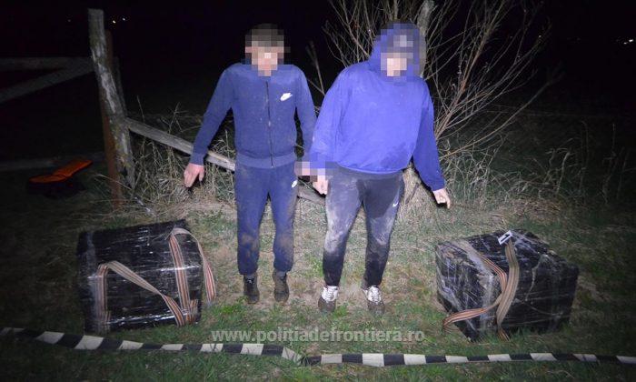 Doi dorneni încarcerați pentru contrabandă cu țigări