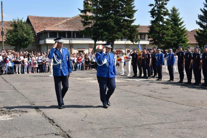 349 de absolvenți au primit gradul de sergent major la Școala Militară de Subofițeri de Jandarmi Fălticeni