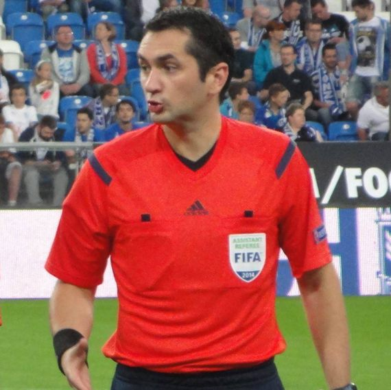 Suceveanul Sebastian Gheorghe, arbitru de tușă la CFR Cluj – FCSB
