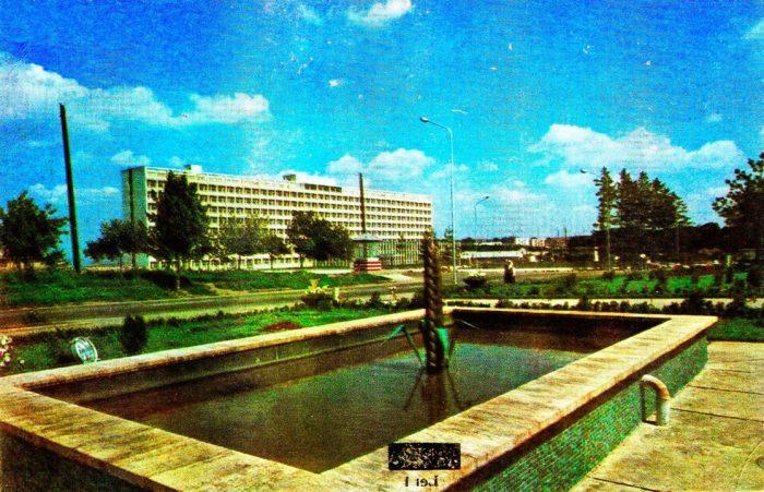 UN ORAȘ, DOUĂ SECOLE (106): Arteziana cu vedere spre Spitalul Județean Suceava