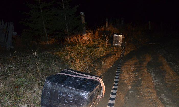 Două focuri de armă pentru oprirea unui transport de țigări de contrabandă, la Lupcina