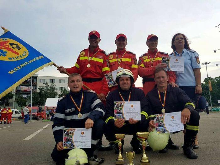 Pompierii militari suceveni, cei mai buni din Moldova