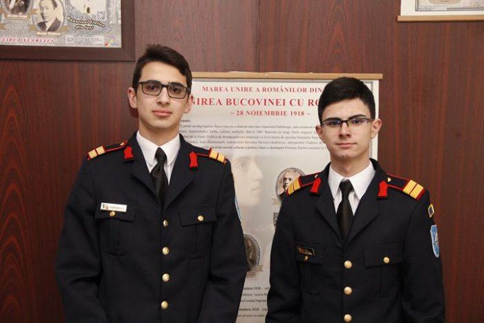 Laureați de la Colegiul Militar Câmpulung Moldovenesc la concursul de istorie virtuală de la Fălticeni