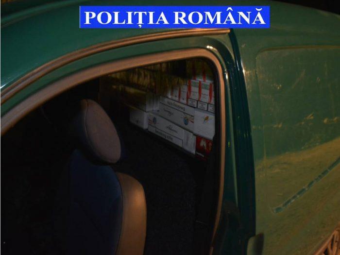 Hunedorean depistat de polițiști cu țigări de contrabandă la Marginea