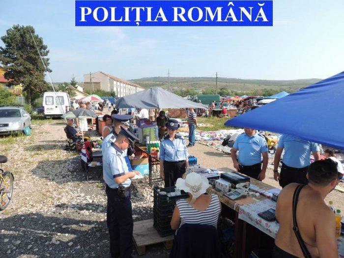 Controale ale polițiștilor suceveni pentru prevenirea comerțului ilicit