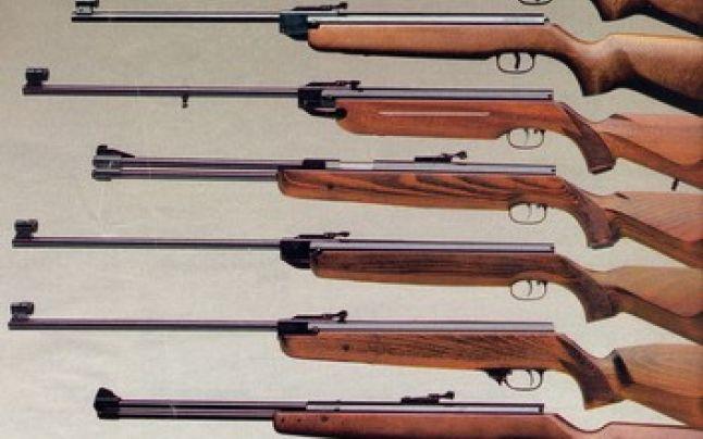Șase arme de vânătoare deținute de un dornean, ridicate de polițiști