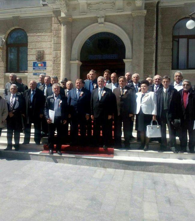 Ședință festivă: 25 de ani de existență a Consiliului Județean Suceava