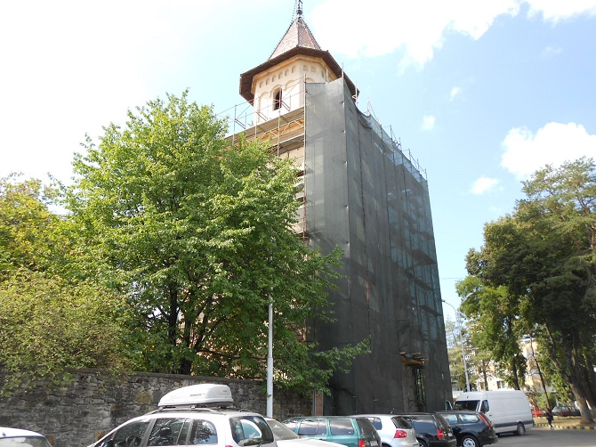 Turnul Manastirii Sf Ioan cel Nou de la Suceava 26.08.16