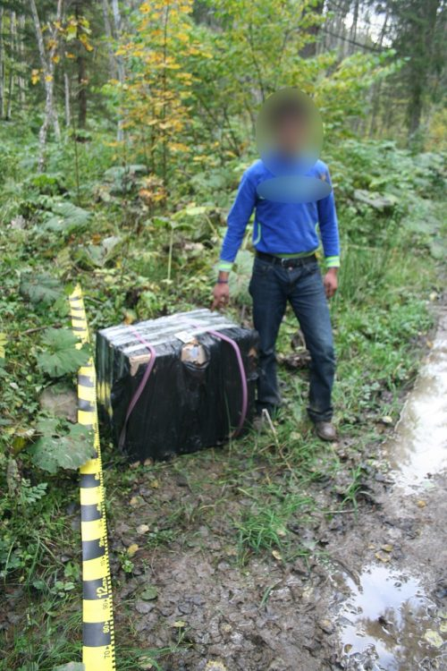 Contrabandist de țigări ucrainene reținut cu focuri de armă, la Nisipitu