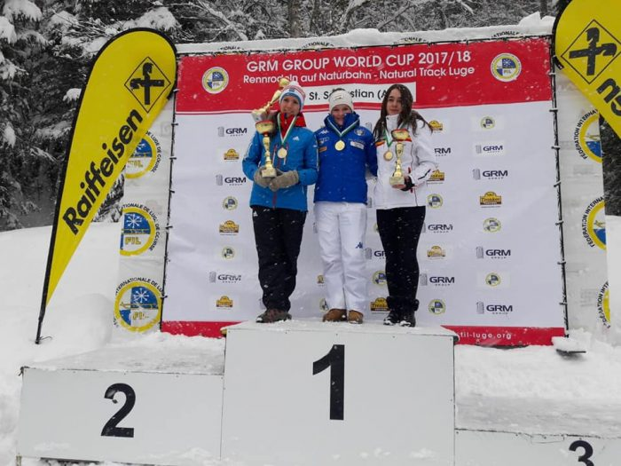 Maria Ciubotaru, bronz la Cupa Națiunilor la sanie juniori