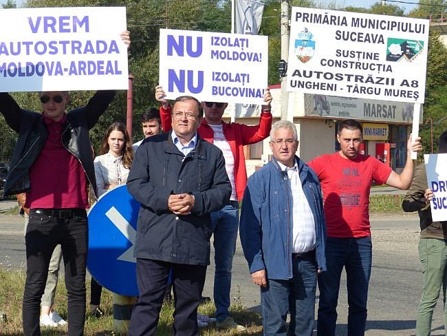 """SenatorulCadariu s-a obișnuit cu deplasările de partid: """"E nevoie de un marș pentru finalizarea centurii Sucevei?"""""""